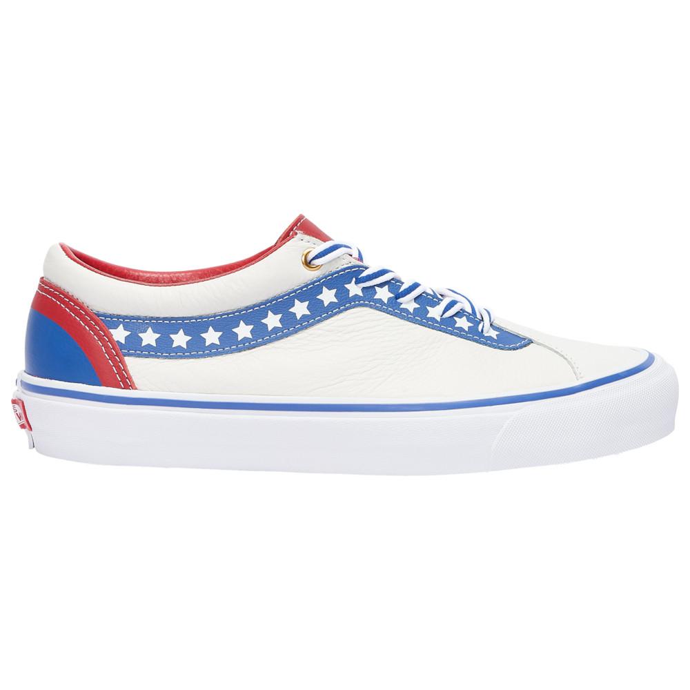 ヴァンズ Vans メンズ スケートボード シューズ・靴【Bold NI】True White/True Blue