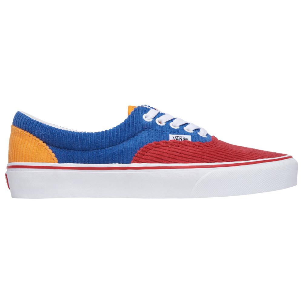 ヴァンズ Vans メンズ スケートボード シューズ・靴【Era】Red/Orange/Blue
