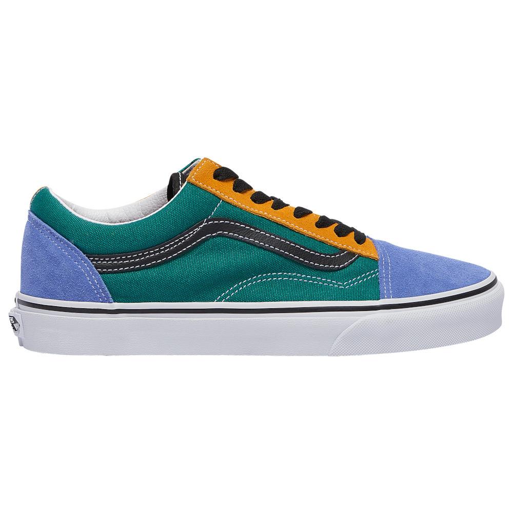 ヴァンズ Vans メンズ スケートボード シューズ・靴【Old Skool】Cadmium Yellow/Tidepool