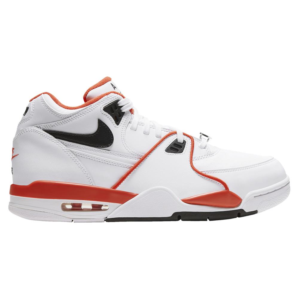 ナイキ Nike メンズ バスケットボール シューズ・靴【Flight 89】White/Black/Team Orange