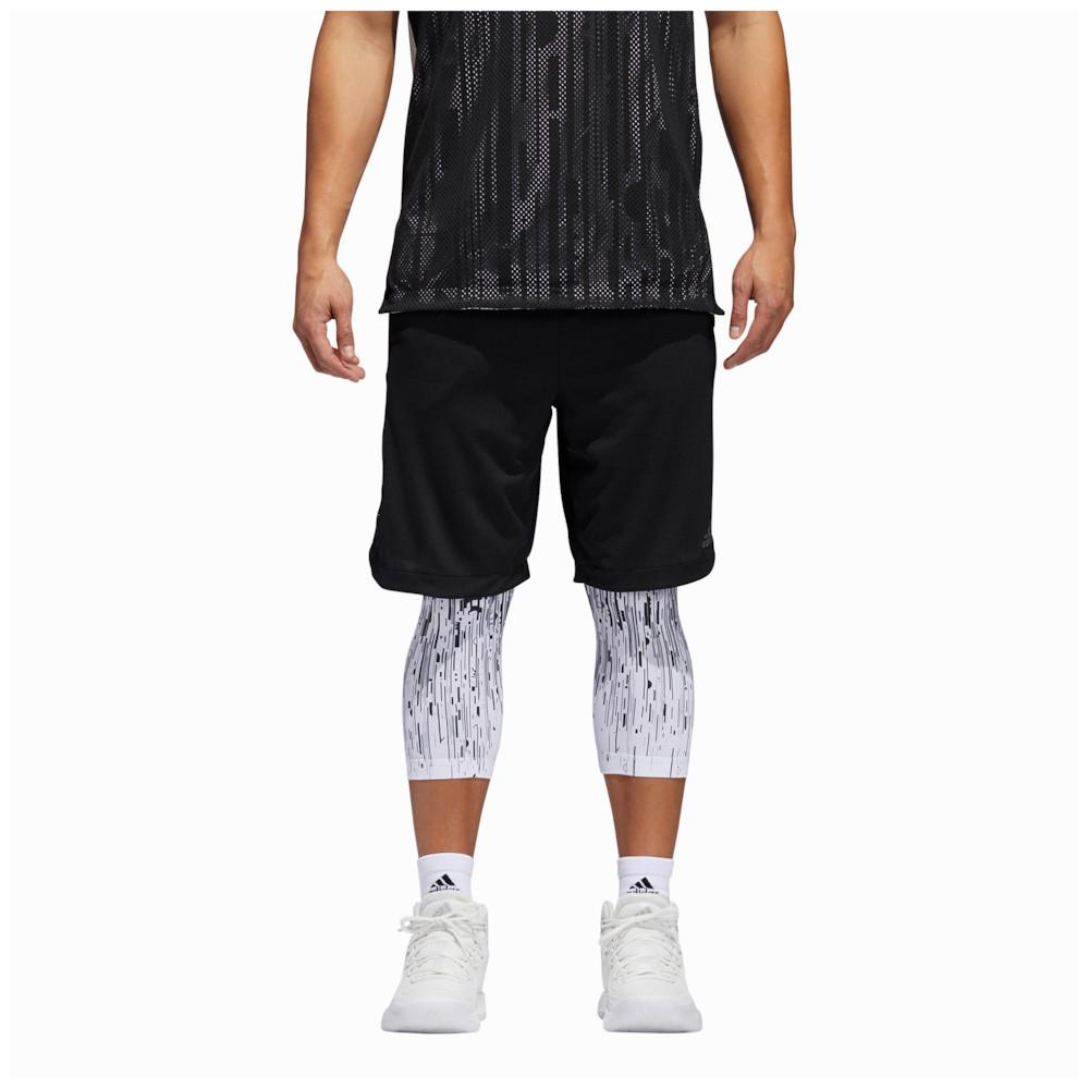 アディダス adidas メンズ バスケットボール ショートパンツ ボトムス・パンツ【Electric 2-in-1 Shorts】Black