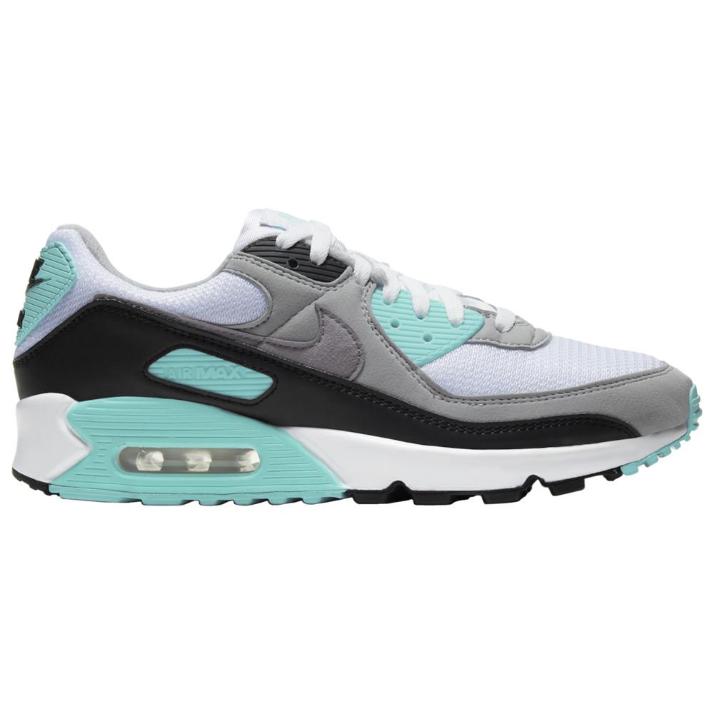 ナイキ Nike メンズ ランニング・ウォーキング シューズ・靴【Air Max 90】White/Particle Grey/Hyper Turquoise/Black
