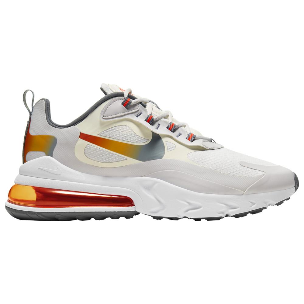 ナイキ Nike メンズ ランニング・ウォーキング シューズ・靴【Air Max 270 React】Summit White/Metallic Gold/Vast Grey