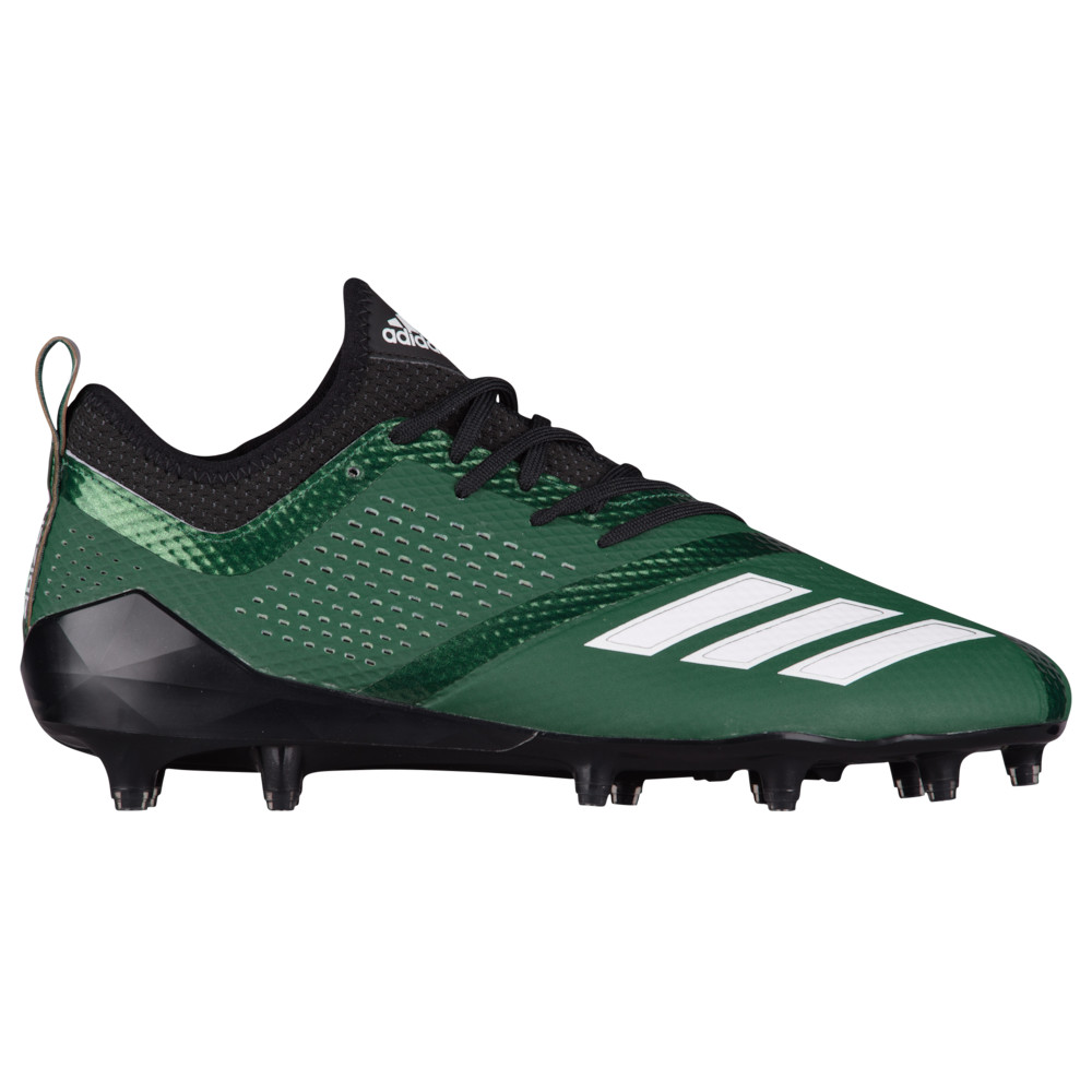 アディダス adidas メンズ アメリカンフットボール シューズ・靴【adiZero 5-Star 7.0】Black/White/Dark Green