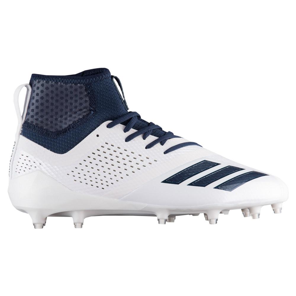アディダス adidas メンズ アメリカンフットボール シューズ・靴【adiZero 5-Star 7.0 Mid】White/Collegiate Navy/Collegiate Navy
