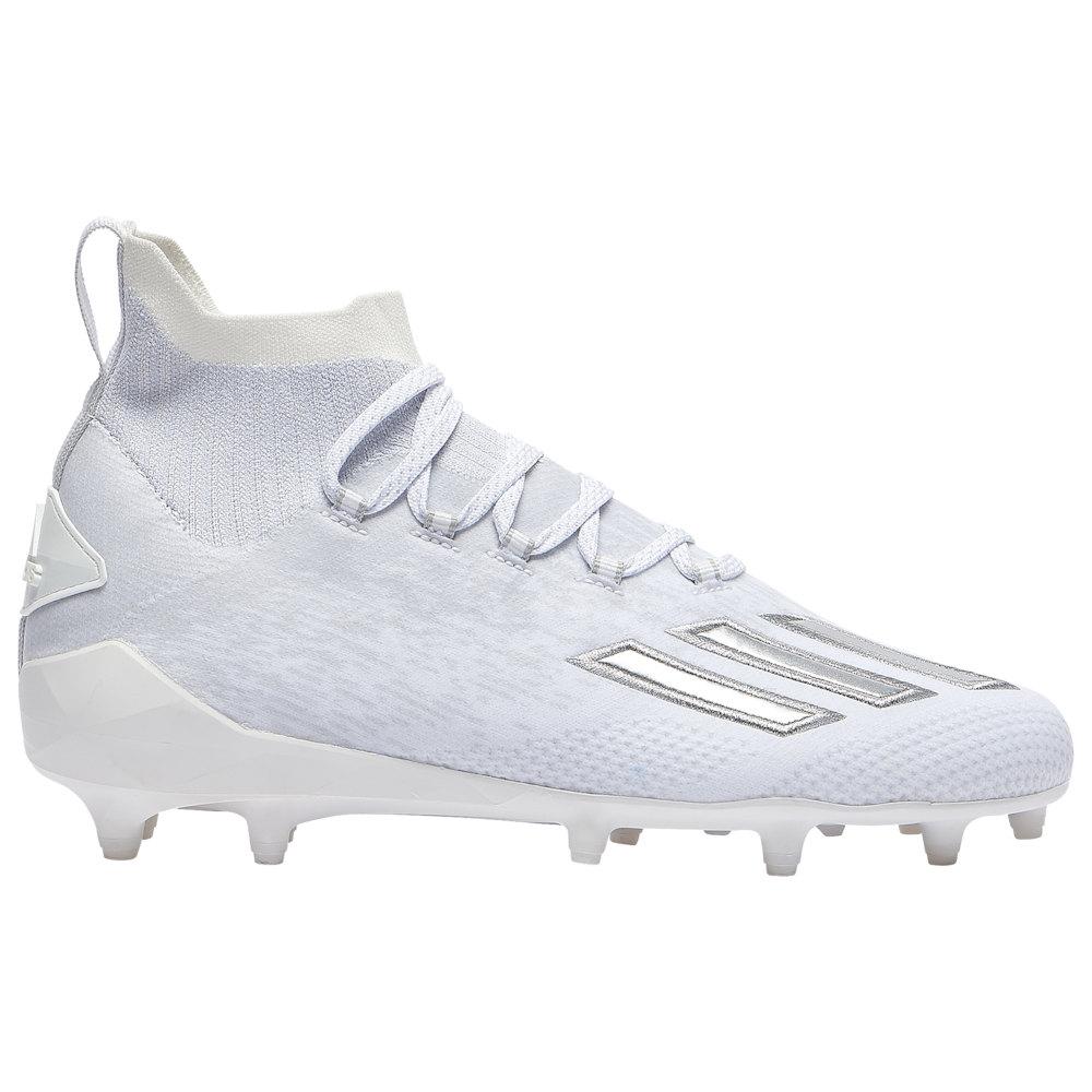 アディダス adidas メンズ アメリカンフットボール シューズ・靴【adiZero SK】White/Silver Metallic/White