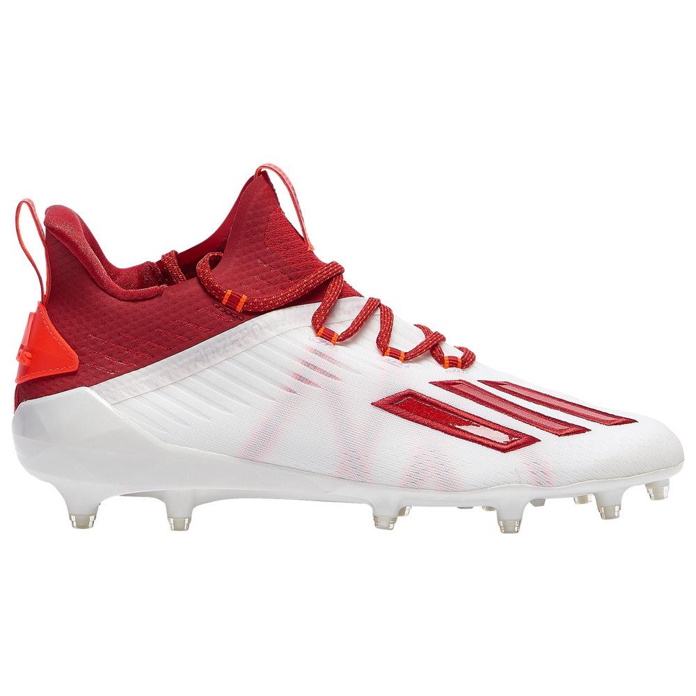 アディダス adidas メンズ アメリカンフットボール シューズ・靴【adiZero】White/Power Red/Solar Red
