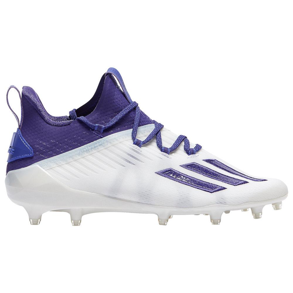 アディダス adidas メンズ アメリカンフットボール シューズ・靴【adiZero】White/Team College Purple/College Purple