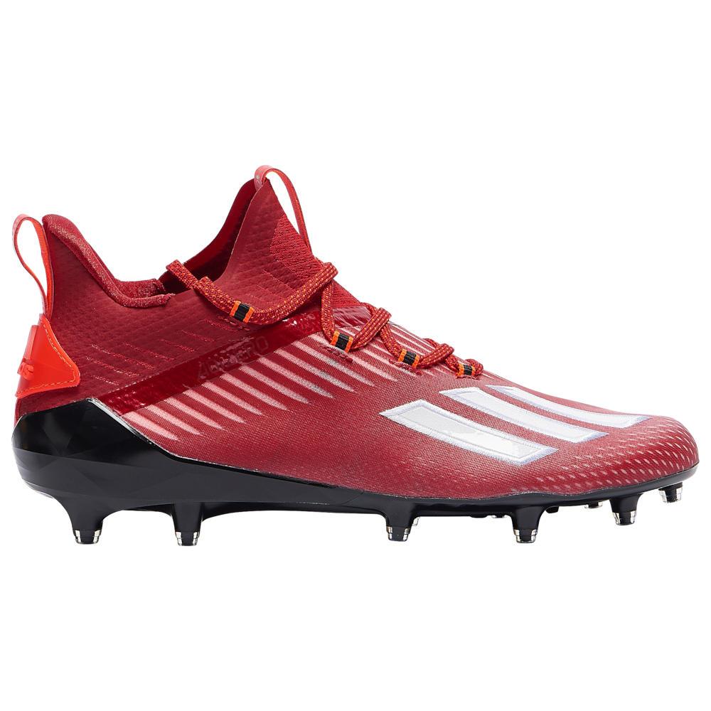 アディダス adidas メンズ アメリカンフットボール シューズ・靴【adiZero】Power Red/White/Core Black