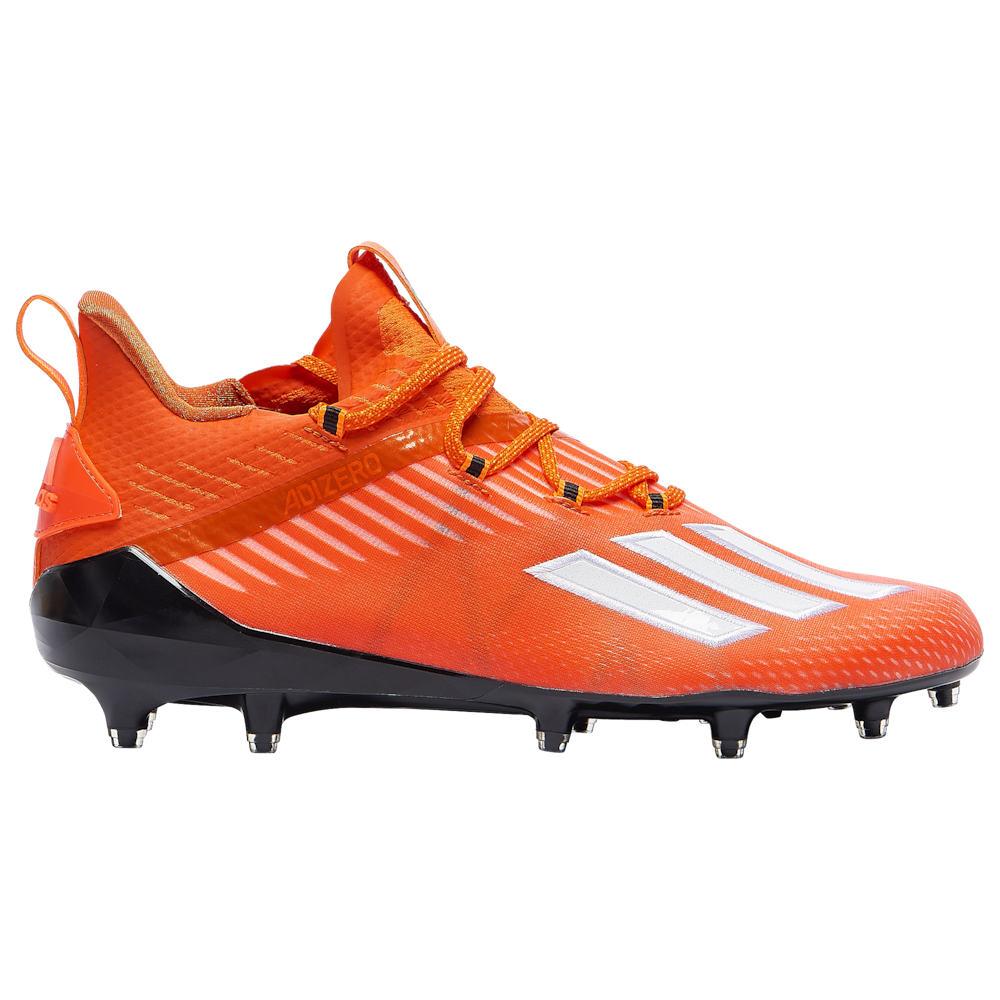 アディダス adidas メンズ アメリカンフットボール シューズ・靴【adiZero】Orange/White/Core Black