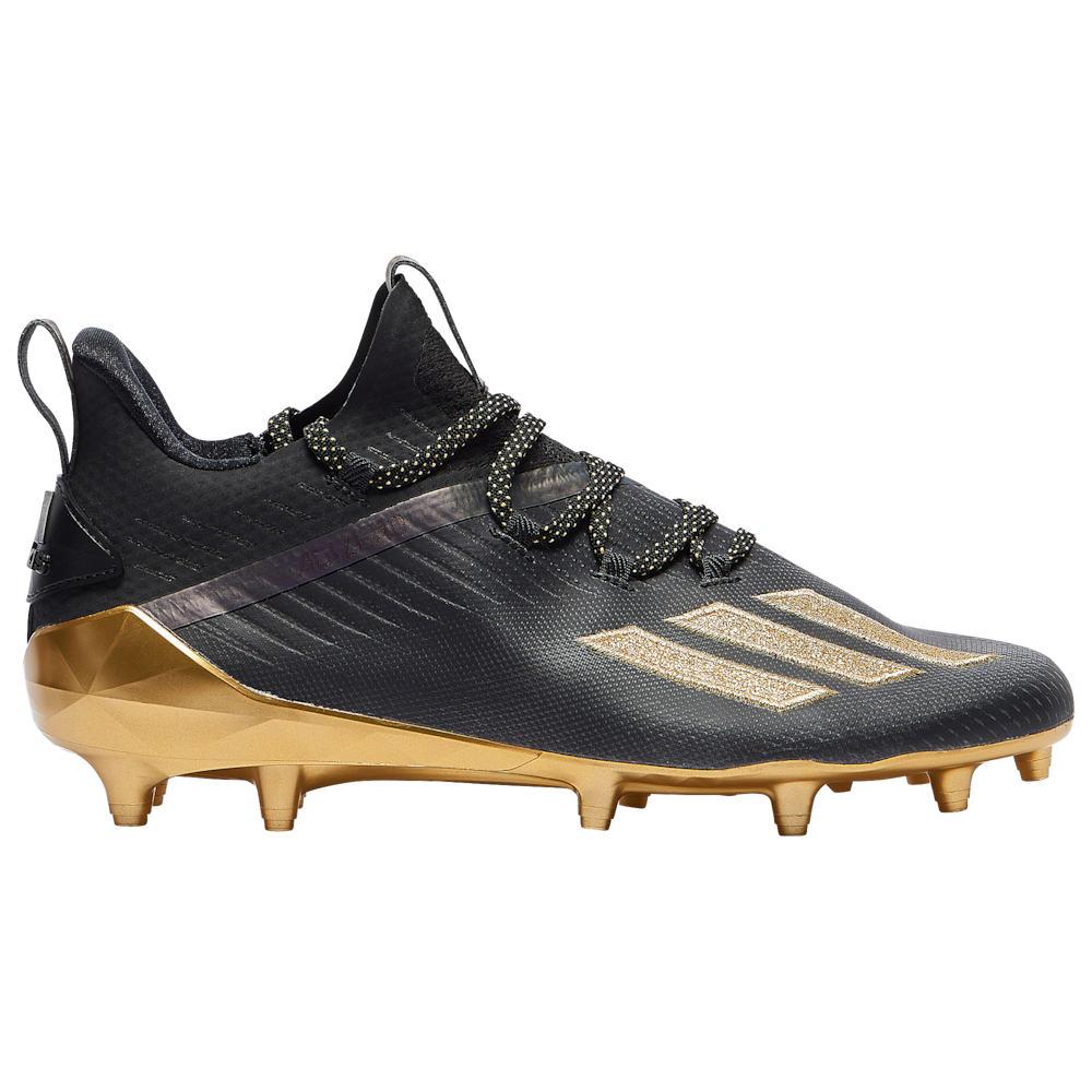 アディダス adidas メンズ アメリカンフットボール シューズ・靴【adiZero】Black/Gold Metallic/Gold Metallic