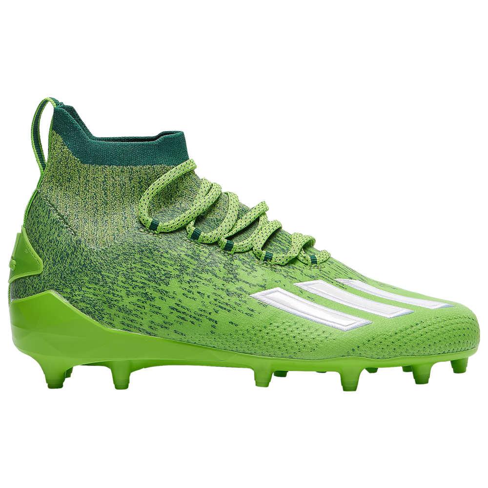 アディダス adidas メンズ アメリカンフットボール シューズ・靴【adiZero SK】Team Semi Solar Green/White/Team Dark Green