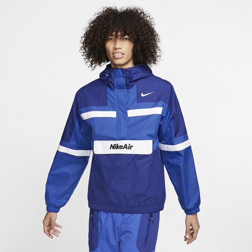 ナイキ Nike メンズ ジャケット アウター【Air Woven Jacket】Game Royal/Deep Royal Blue/White