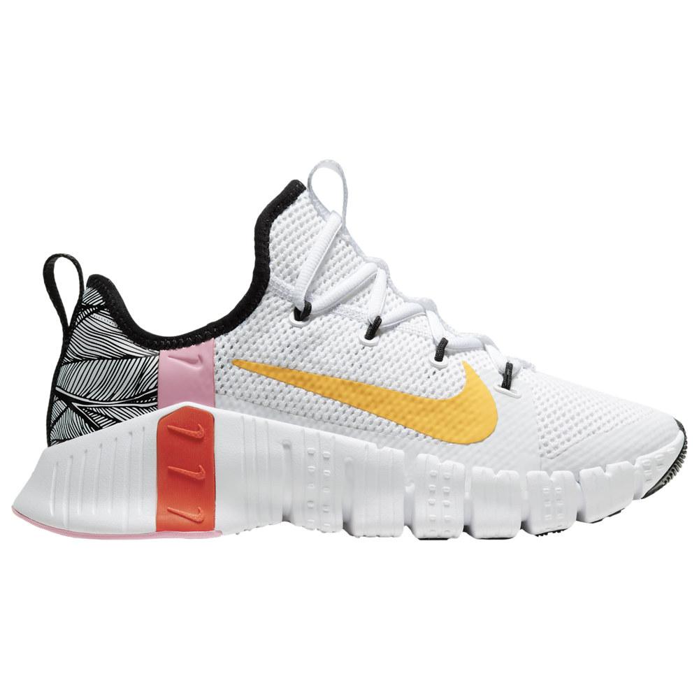 ナイキ Nike レディース フィットネス・トレーニング シューズ・靴【Free Metcon 3】White/Laser Orange/Team Orange