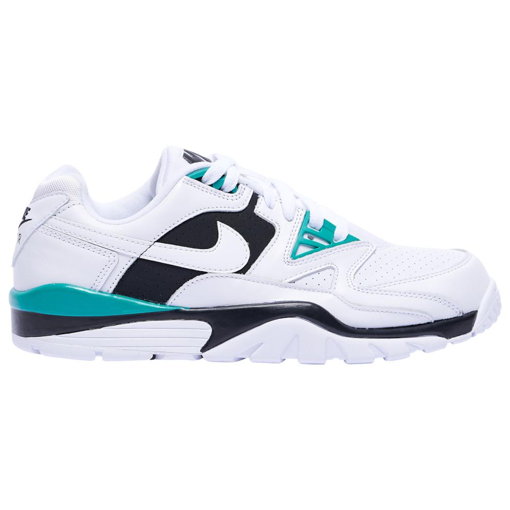 ナイキ Nike メンズ フィットネス・トレーニング スニーカー シューズ・靴【Air Cross Trainer 3 Low】White/White/Neptune Green/Black