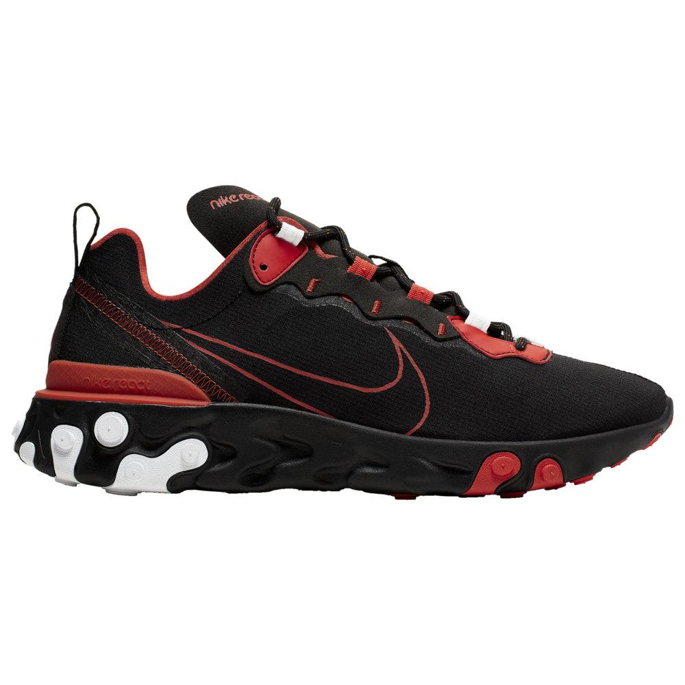 ナイキ Nike メンズ ランニング・ウォーキング シューズ・靴【React Element 55 EOS】Black/Red/White