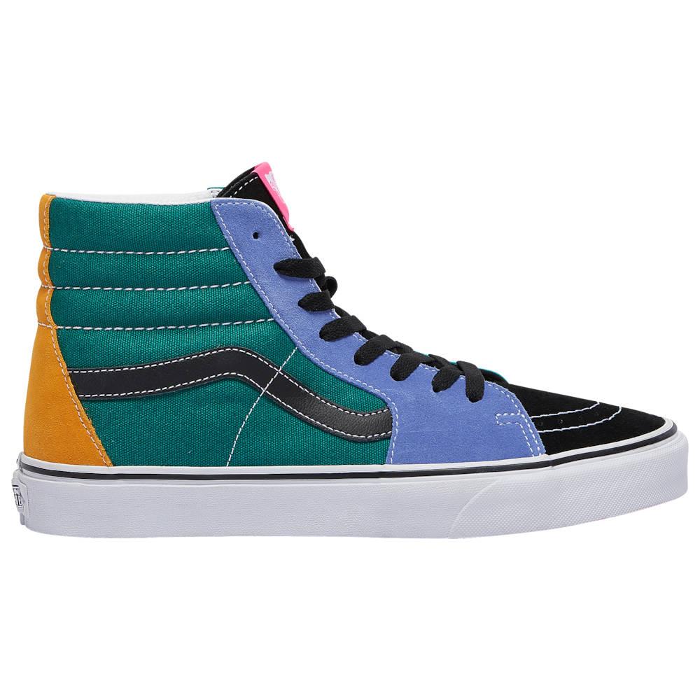 ヴァンズ Vans メンズ スケートボード シューズ・靴【Sk8 Hi】Cadmium Yellow/Tidepool