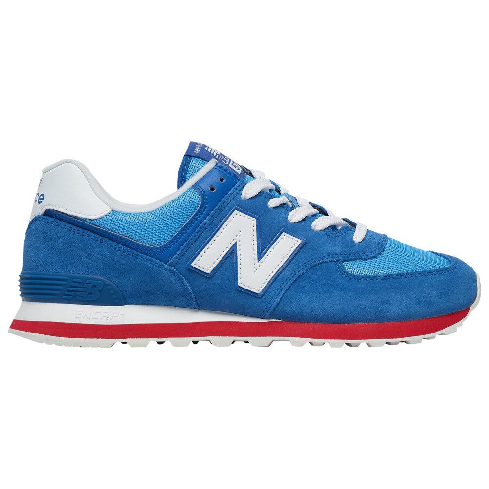 ニューバランス New Balance メンズ ランニング・ウォーキング シューズ・靴【574】Classic Blue/Team Red