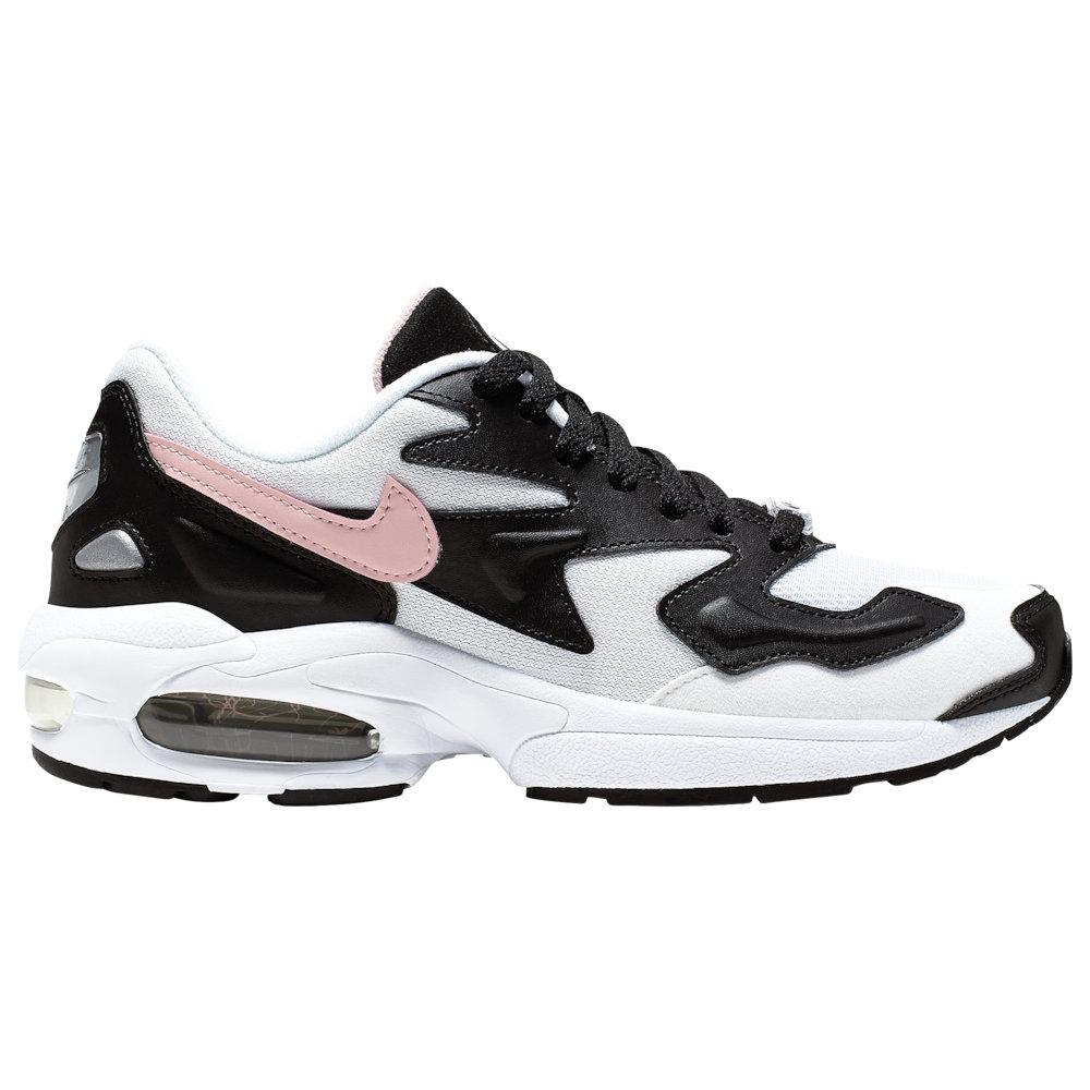 ナイキ Nike レディース ランニング・ウォーキング シューズ・靴【Air Max 2 Light】White/Bleached Coral/Black