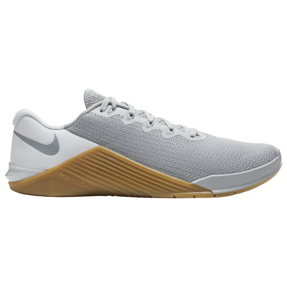 ナイキ Nike メンズ フィットネス・トレーニング シューズ・靴【Metcon 5】Wolf Grey/Wolf Grey/White/Gum Medium Brown