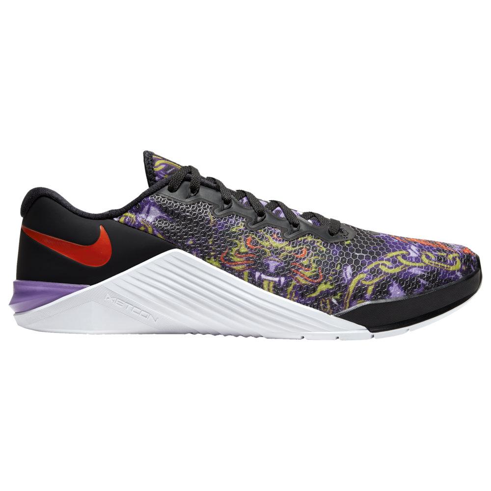 ナイキ Nike メンズ フィットネス・トレーニング シューズ・靴【Metcon 5】Black/Bright Cactus/Purple Nebula/White