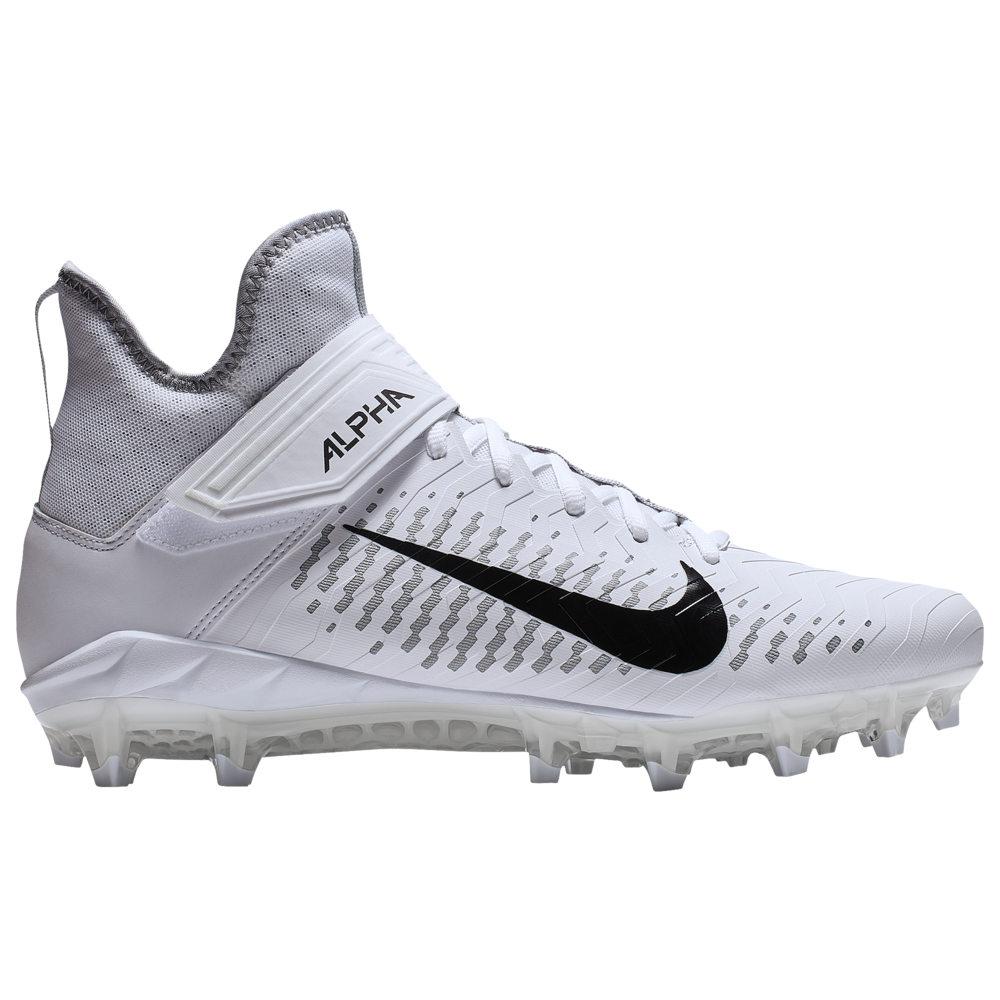 ナイキ Nike メンズ アメリカンフットボール シューズ・靴【Alpha Menace Pro 2 MID】White/Black