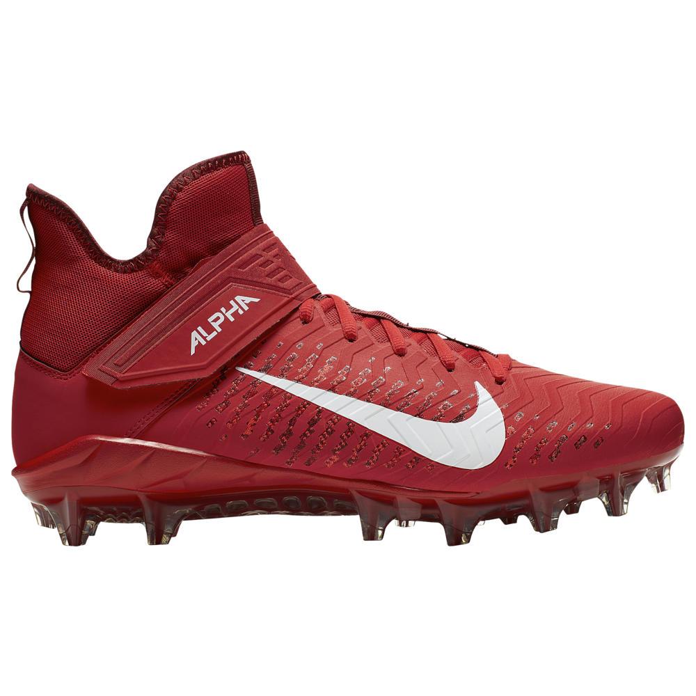 ナイキ Nike メンズ アメリカンフットボール シューズ・靴【Alpha Menace Pro 2 MID】University Red/White/Team Red