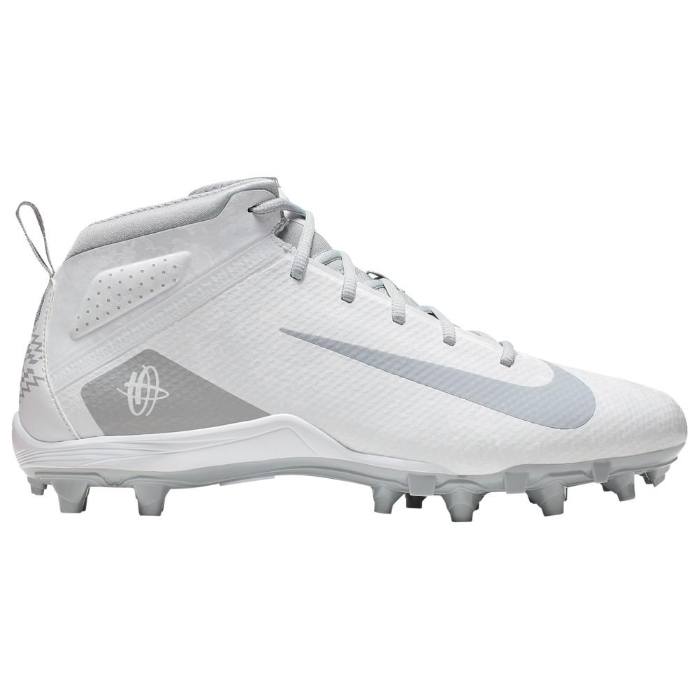 ナイキ Nike メンズ ラクロス シューズ・靴【Alpha Huarache 7 Varsity LAX】White/Wolf Grey/Volt