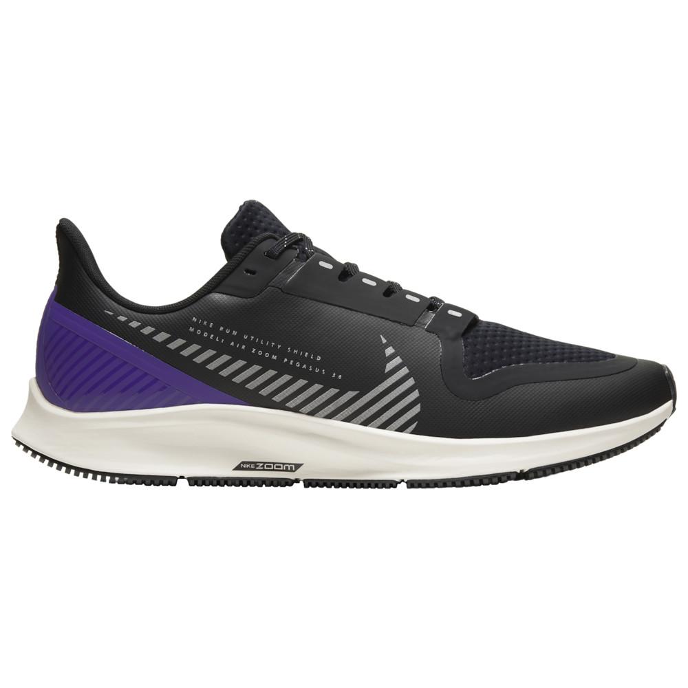 ナイキ Nike メンズ ランニング・ウォーキング シューズ・靴【Air Zoom Pegasus 36 Shield】Black/Silver