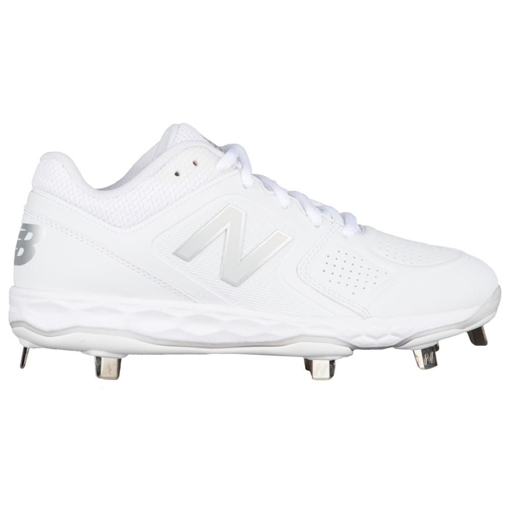 ニューバランス New Balance レディース 野球 シューズ・靴【Fresh Foam Velov1 Metal Low】White/White