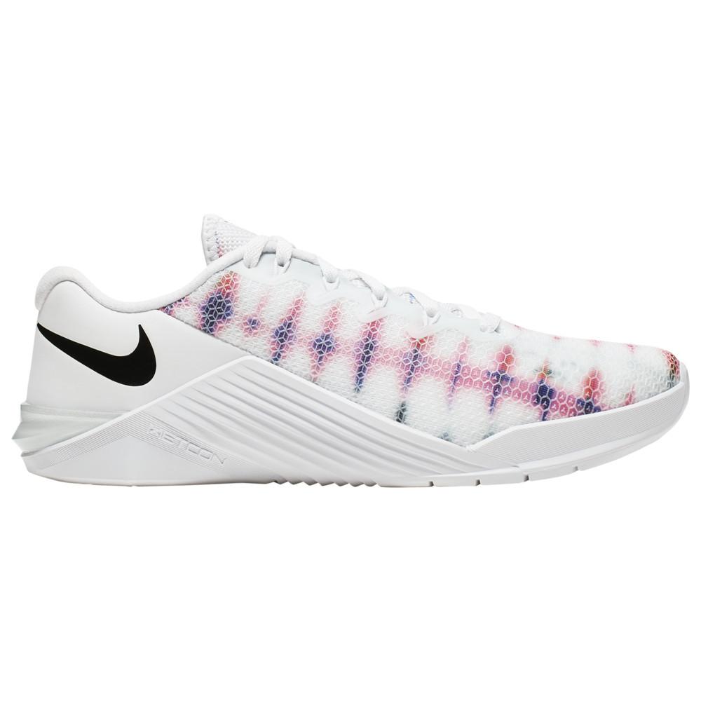 ナイキ Nike レディース フィットネス・トレーニング シューズ・靴【Metcon 5】White/Black
