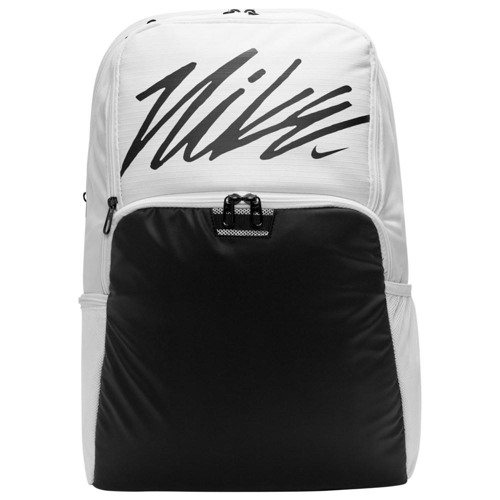 ナイキ Nike ユニセックス バックパック・リュック バッグ【Brasilia XL Backpack】White/Black