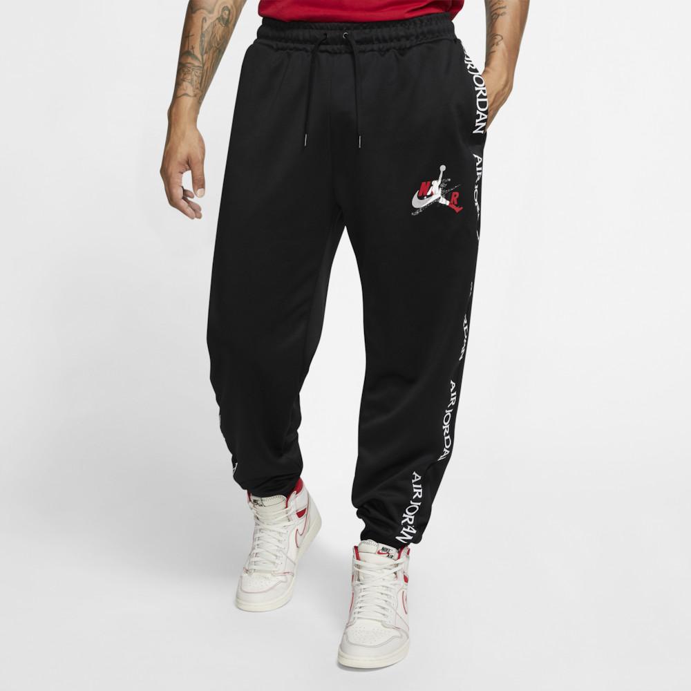 ナイキ ジョーダン Jordan メンズ バスケットボール ボトムス・パンツ【Jumpman Classics Tricot Warm-Up Pants】Black/Gym Red/White