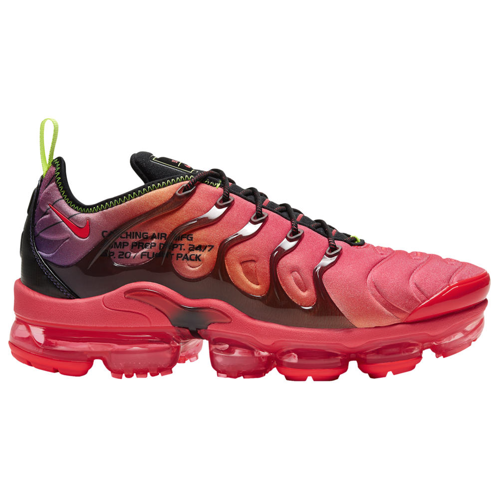 ナイキ Nike メンズ ランニング・ウォーキング シューズ・靴【Air Vapormax Plus】Black/Laser Crimson/Volt/Hyper Grape
