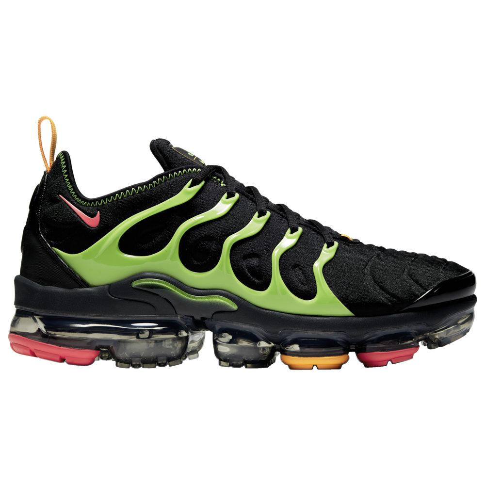 ナイキ Nike メンズ ランニング・ウォーキング シューズ・靴【Air Vapormax Plus】Black/Ember Glow/Electric Green/Kumquat