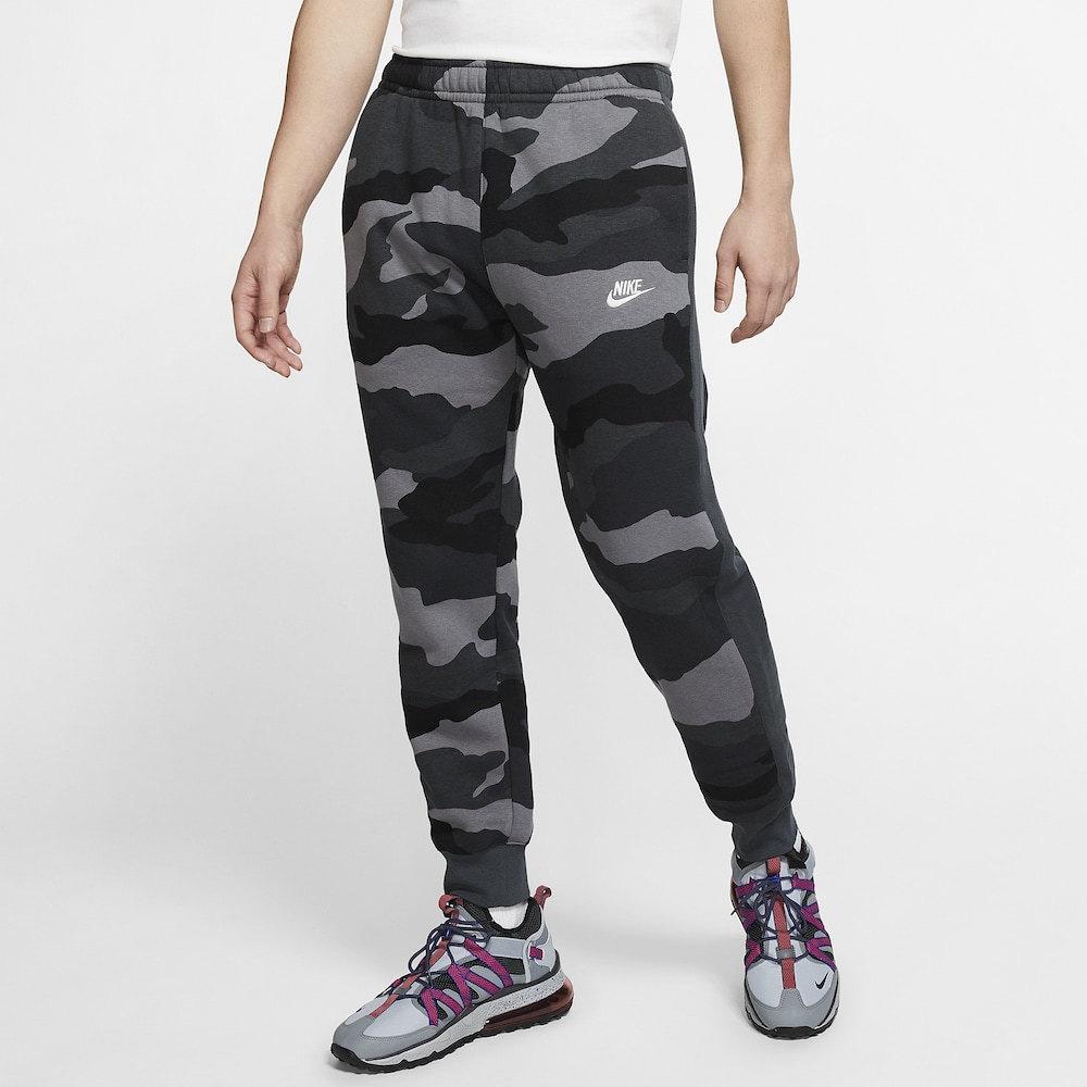 ナイキ Nike メンズ ジョガーパンツ ボトムス・パンツ【Club Camo Joggers】Dark Grey/Anthracite/Summit White