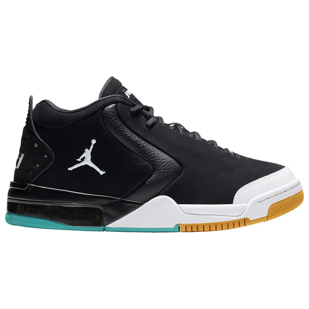 ナイキ ジョーダン Jordan メンズ バスケットボール シューズ・靴【Big Fund】Black/White/Canyon Gold/Turbo Green