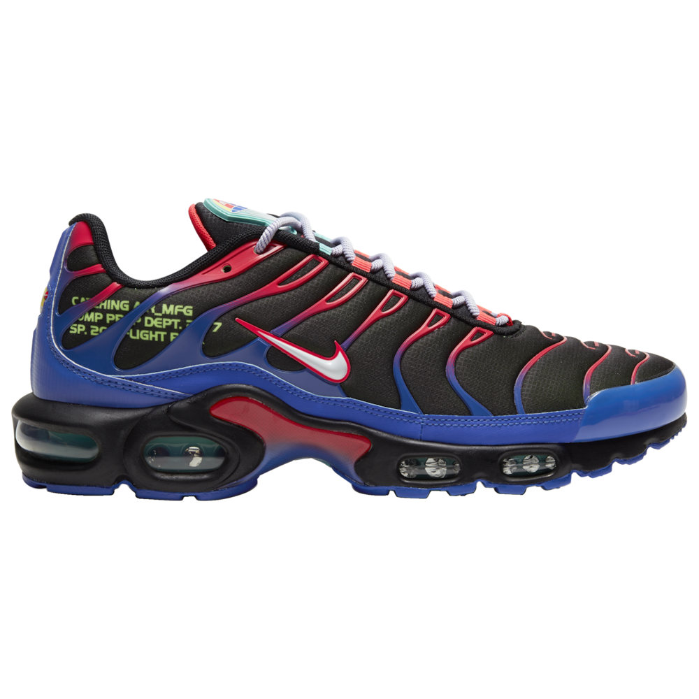 ナイキ Nike メンズ ランニング・ウォーキング シューズ・靴【Air Max Plus】Black/White/Laser Crimson/Hyper Royal