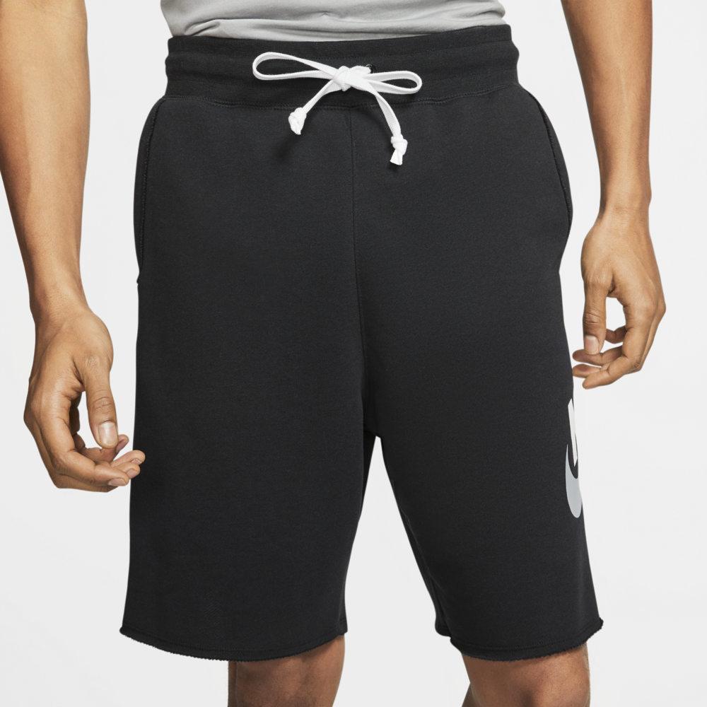 ナイキ Nike メンズ ショートパンツ ボトムス・パンツ【NSW Alumni City Shorts】Black/White