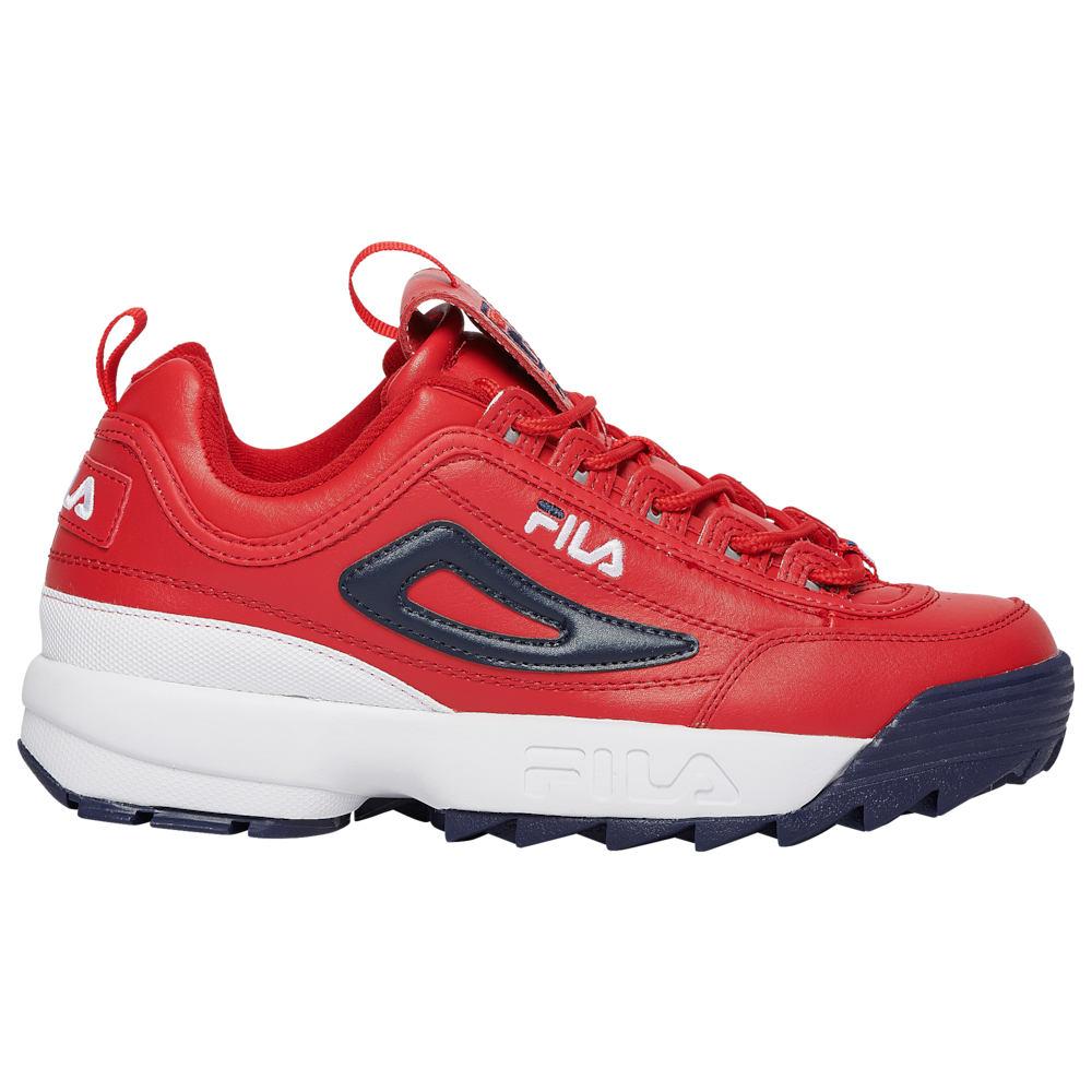 フィラ Fila メンズ フィットネス・トレーニング シューズ・靴【Disruptor II】Red/White/Navy