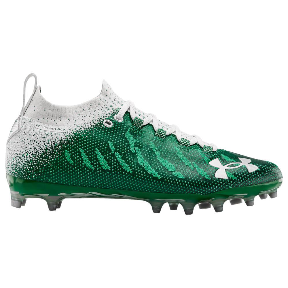 アンダーアーマー Under Armour メンズ アメリカンフットボール シューズ・靴【Spotlight LUX MC】Classic Green/White/White