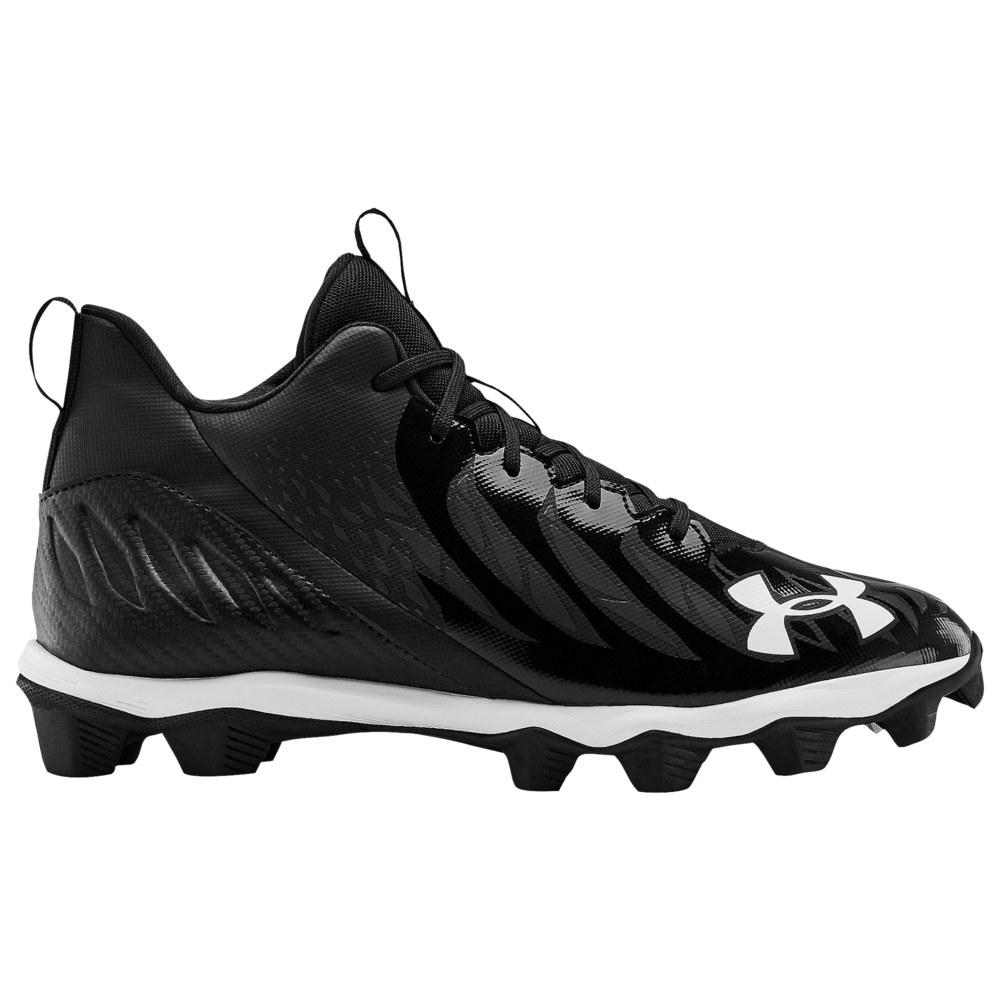 アンダーアーマー Under Armour メンズ アメリカンフットボール シューズ・靴【Spotlight Franchise RM】Black/White/White