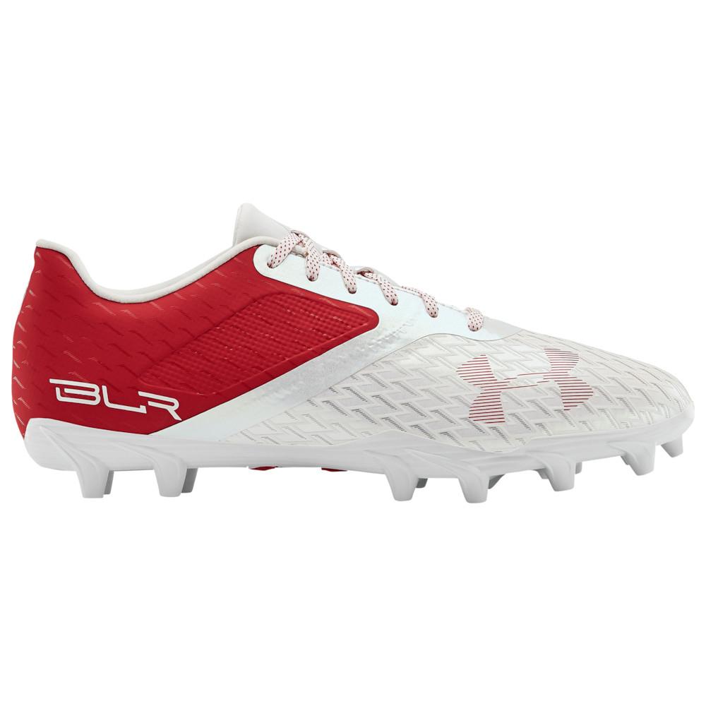 アンダーアーマー Under Armour メンズ アメリカンフットボール シューズ・靴【Blur Select Low MC】Red/White/Red