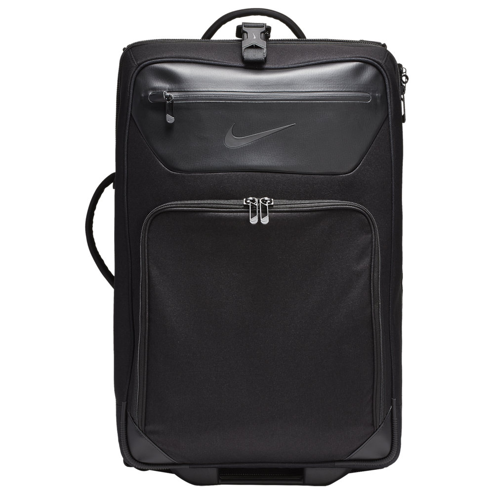 ナイキ Nike ユニセックス スーツケース・キャリーバッグ バッグ【Departure Roller Bag】Black/Black