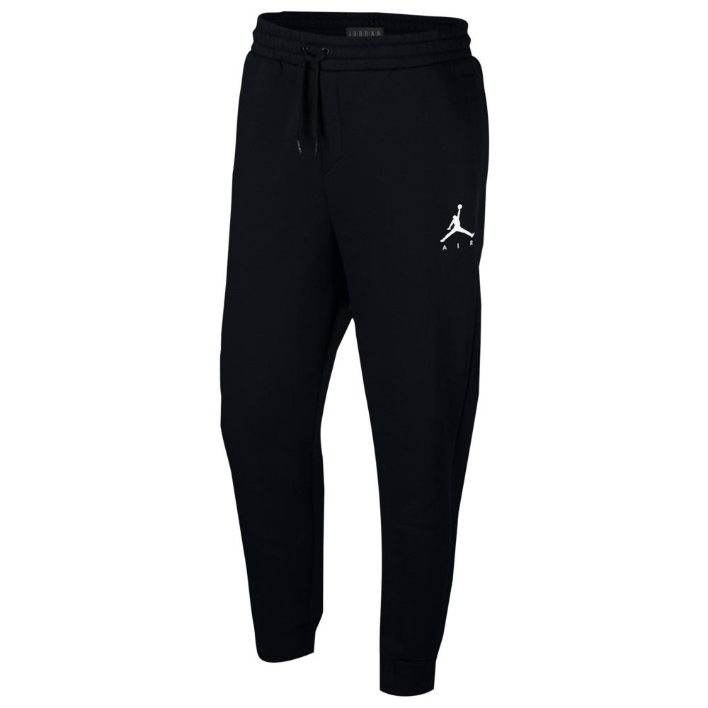 ナイキ ジョーダン Jordan メンズ バスケットボール ボトムス・パンツ【Jumpman Air Fleece Pants】Black/White