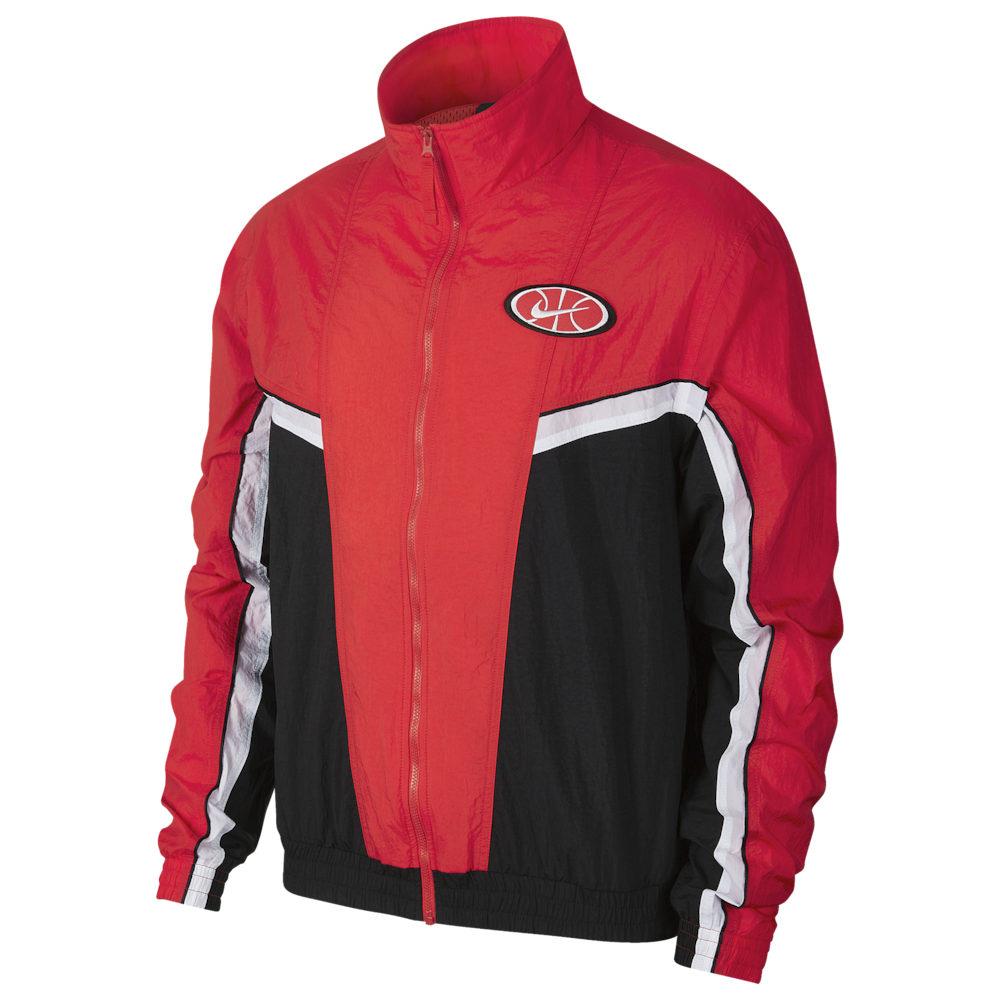 ナイキ Nike メンズ ジャケット アウター【Throwback Woven Jacket】University Red/Black/White