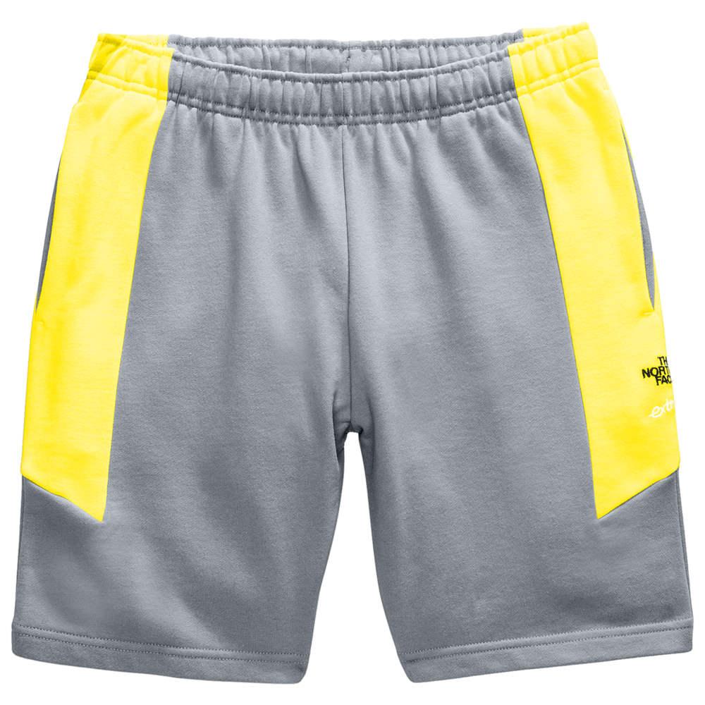 ザ ノースフェイス The North Face メンズ ショートパンツ ボトムス・パンツ【Extreme 2 Fleece Shorts】Grey/Yellow