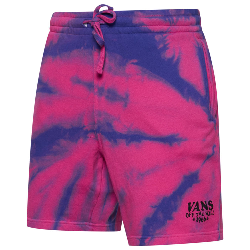 ヴァンズ Vans メンズ フリース トップス【Strange Vacation Fleece Short】Fuchsia Purple