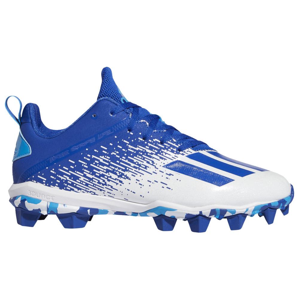 アディダス adidas メンズ アメリカンフットボール シューズ・靴【adiZero Spark MD】Team Royal Blue/White/Bright Cyan