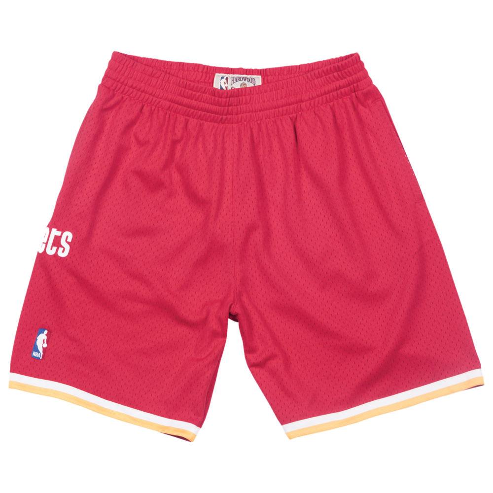 ミッチェル&ネス Mitchell & Ness メンズ バスケットボール ショートパンツ ボトムス・パンツ【NBA Swingman Shorts】NBA/Houston Rockets/Scarlet/1993 to 1994